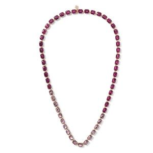 NEW Banana Republic Multi Purple Stone Necklace